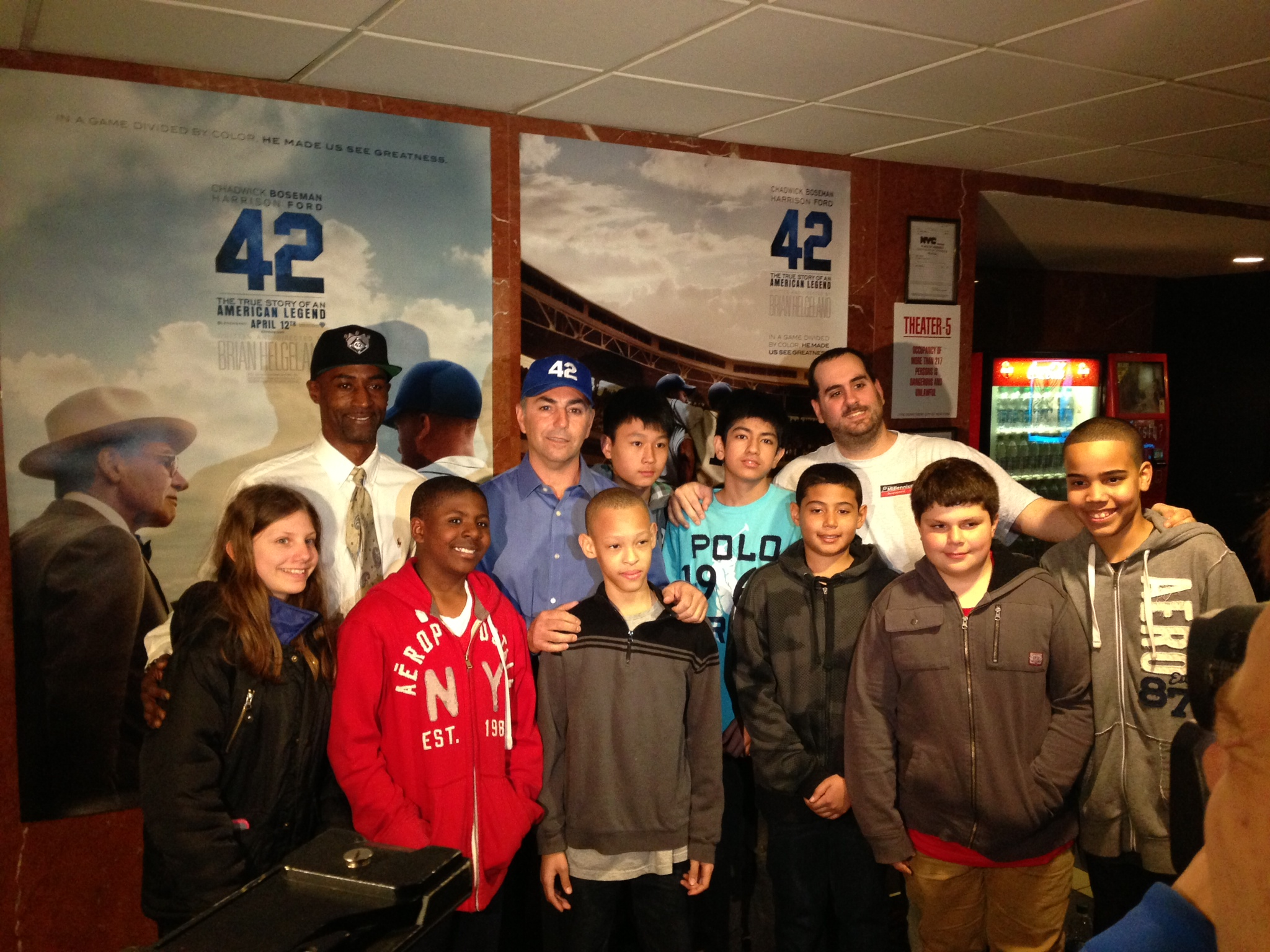 Brooklyn Youth Groups Celebrate Jackie Robinson Day - CUInsight