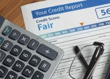 My credit score dropped, but there were no changes on my report