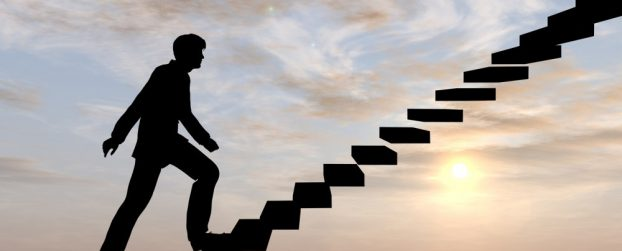 The staircase – rising interest rates