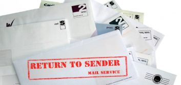 Return mail: The unexpected costs and consequences