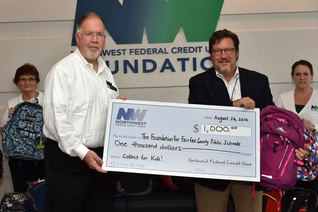Nw Federal Credit Union >> Northwest Federal And Its Members Support Collect For Kids With