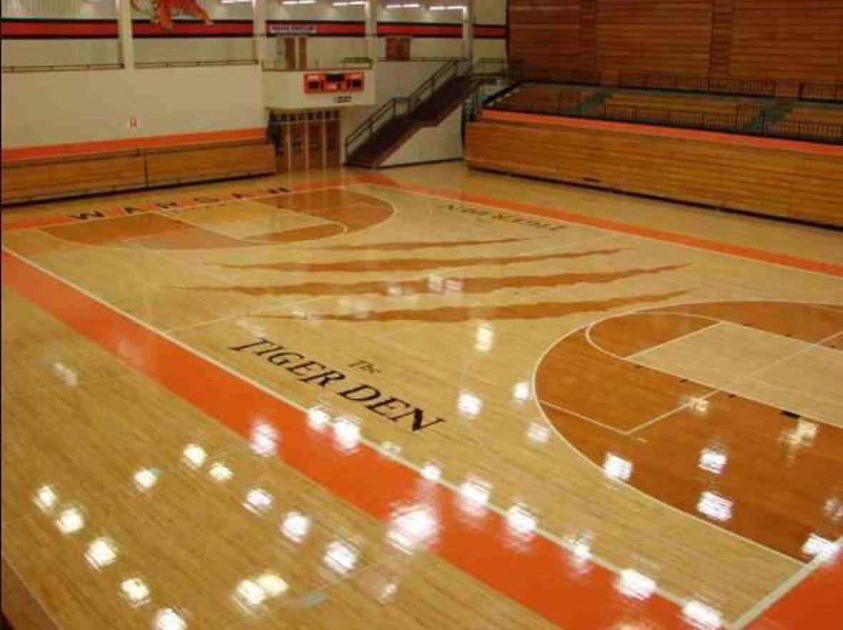 Warsaw High Gymnasium Named Tiger Den Tcu Court Cuinsight
