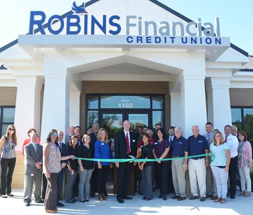 Partners Credit Union Branch: Robins Financial Credit Union Opens Branch In Dublin