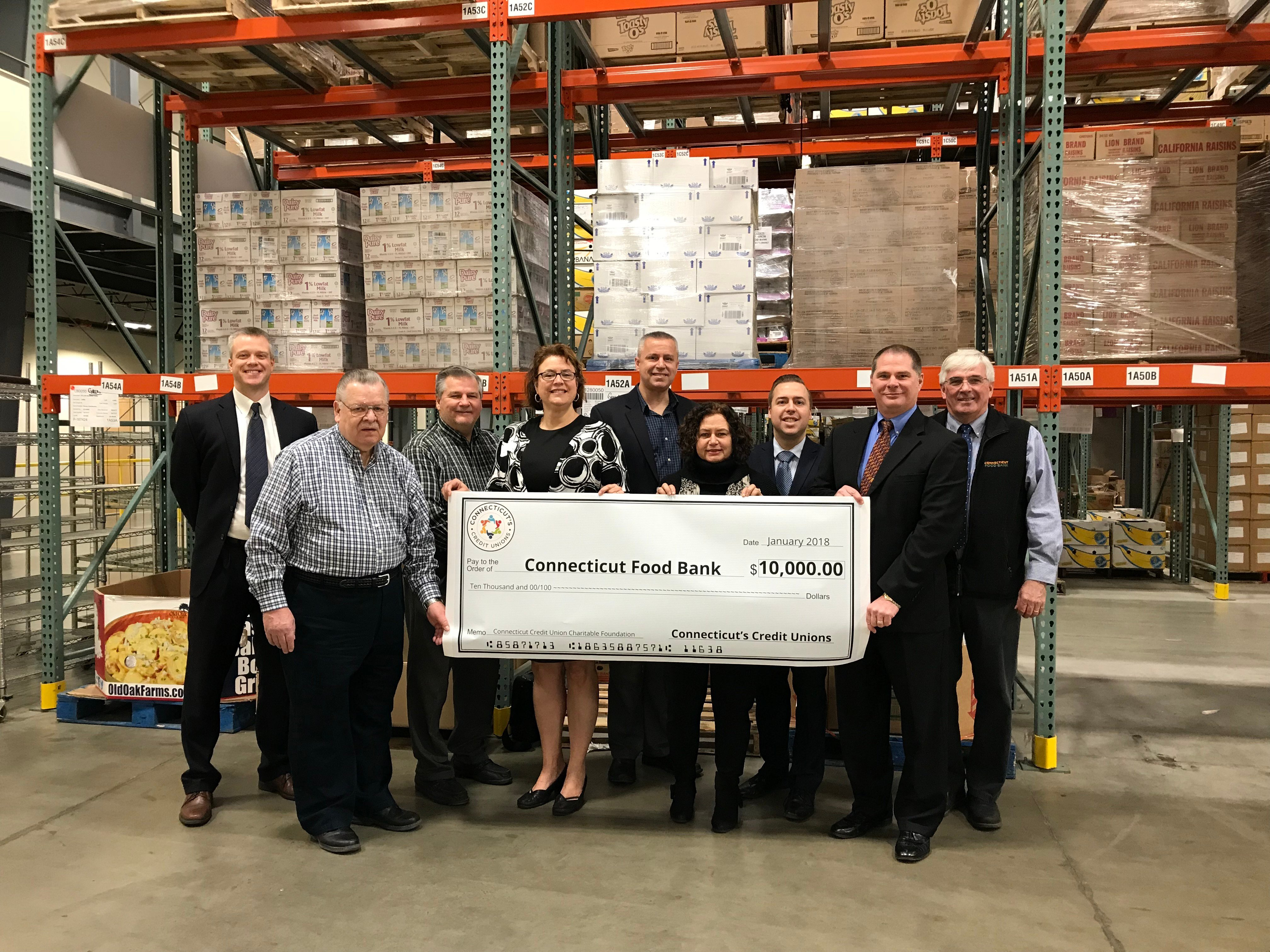 Connecticut Food Bank Receives 10 000 From Connecticut S