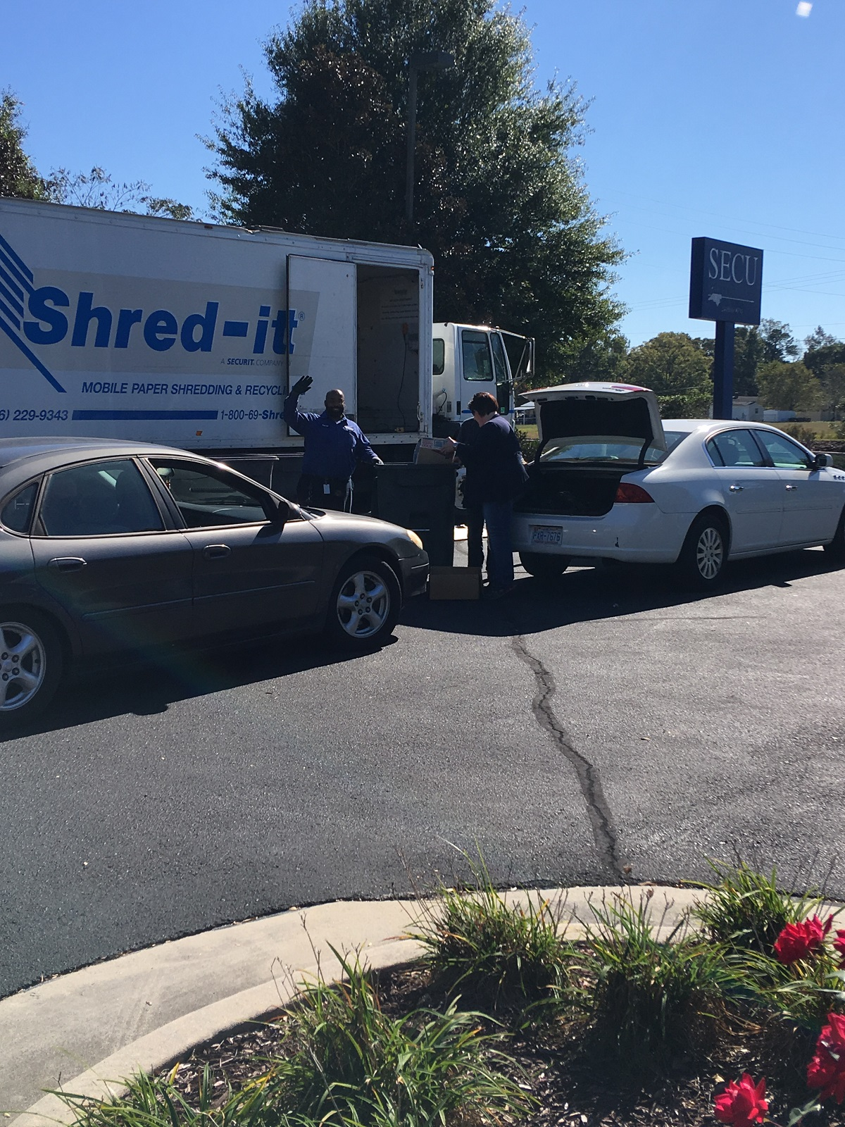 More SECU members take advantage of Shred Days for safe and secure