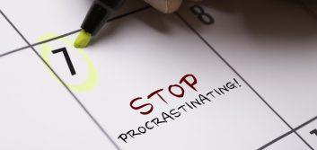 4 tips to stop procrastination