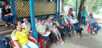 Reaching displaced communities in Colombia
