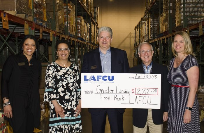 Lafcu Donates 8 137 Meals To Greater Lansing Food Bank In Support Of Wkar Radio Spring Fundraiser Cuinsight