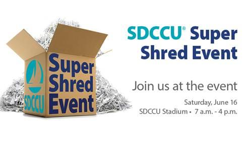 Sdccu Customer Service >> Help Set A New Guinness World Record At The Sdccu Super Shred Event
