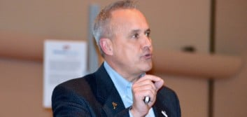 Nussle spreads the word on consumer consideration of credit unions