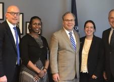 CUNA leaders meet with new NCUA board member Todd Harper