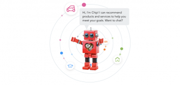 How chatbots can help you get more leads from your credit union website design