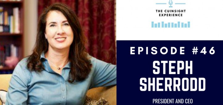 The CUInsight Experience podcast: Steph Sherrodd – Focused vision (#46)