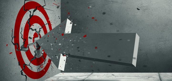 Don't just hit the bullseye. Obliterate it.