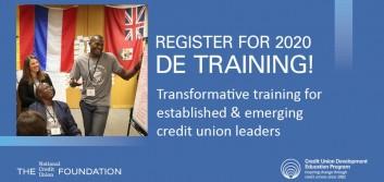 Registration open for Foundation's 2020 DE trainings