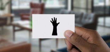 My business card has jazz hands