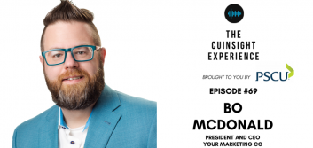 Graphic of The CUInsight Experience featuring Bo McDonald