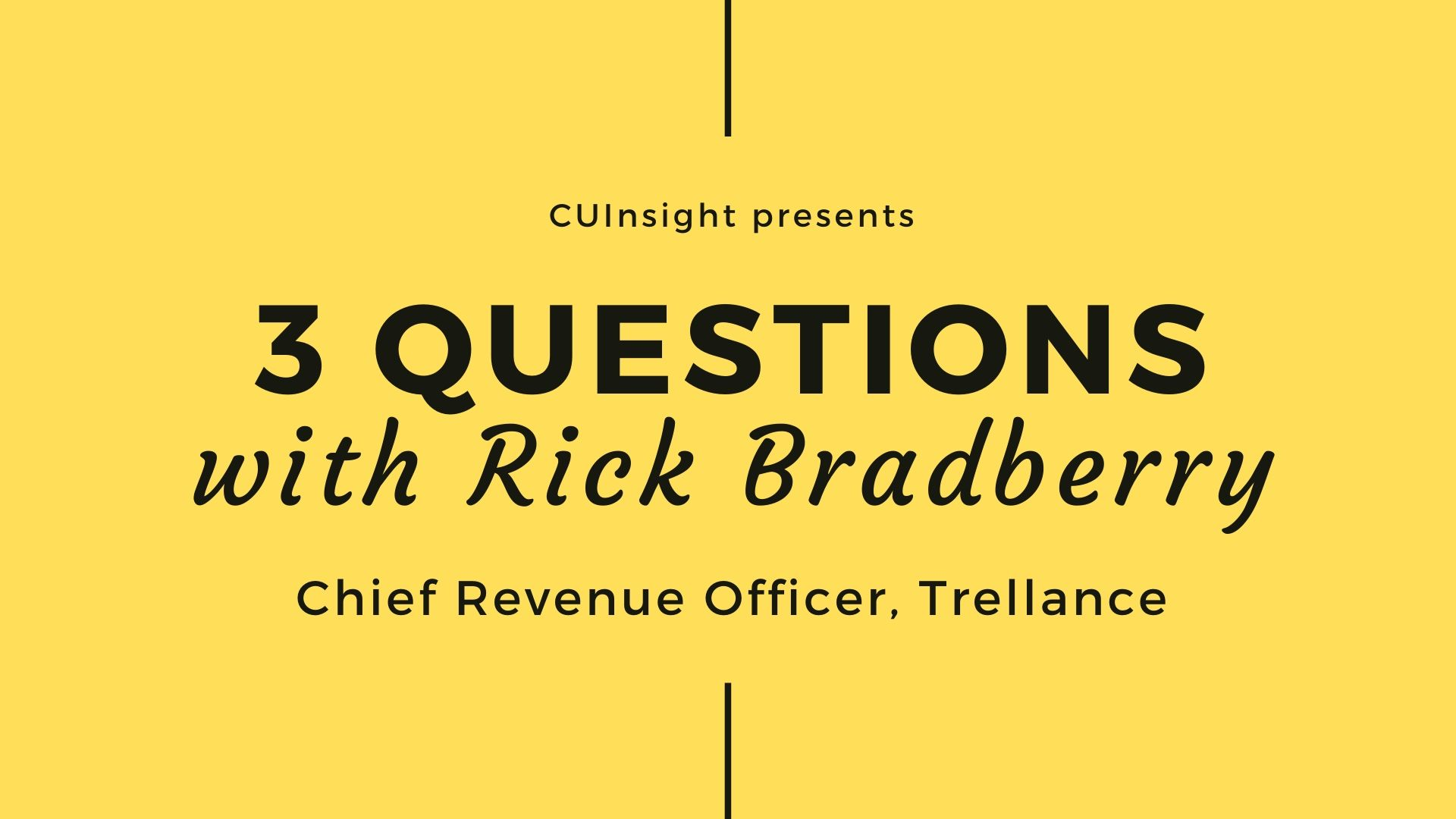 3 questions with Trellance's Rick Bradberry