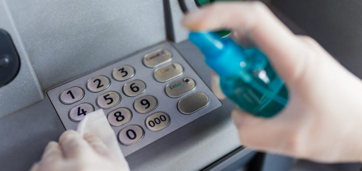 Safe use of ATMs amid COVID-19 concerns