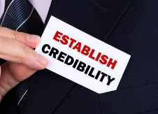 Credibility is crucial