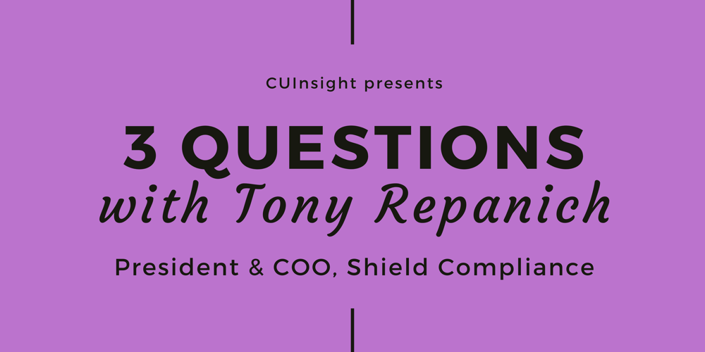 3 questions with Shield Compliance's Tony Repanich