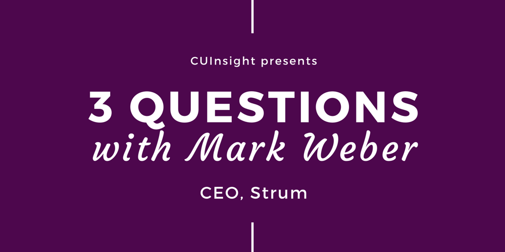 3 questions with Strum's Mark Weber