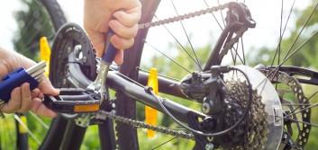 Stuck between gears