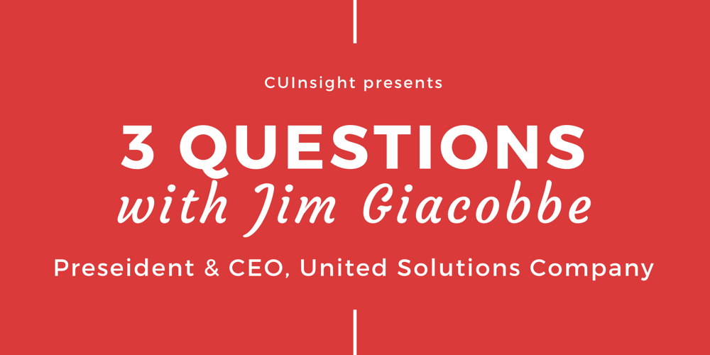 3 questions with United Solutions Company's Jim Giacobbe