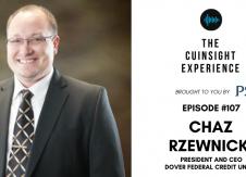 The CUInsight Experience podcast: Chaz Rzewnicki – Be legendary (#107)