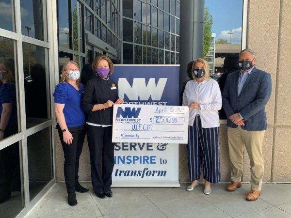 Northwest Federal donates over $17,000 to local food pantries