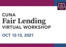 CUNA Fair Lending Virtual Workshop covers topics of examiner focus